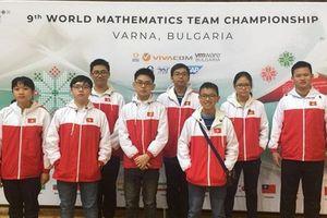 36 học sinh Việt Nam đều giành giải cuộc thi Vô địch các đội tuyển Toán thế giới WMTC 2018