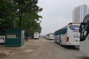 Bãi xe Quân Trung tại KĐT Pháp Vân-Tứ Hiệp 2: Quận Hoàng Mai sẽ giải tỏa trong tuần này