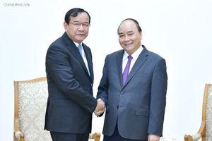 Thủ tướng đề nghị Campuchia quan tâm người gốc Việt ở Biển Hồ