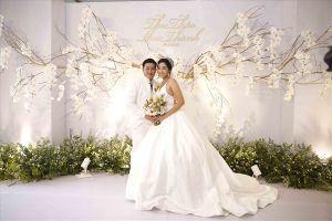 Đốn tim với đám cưới lãng mạn của Hoa hậu Đại dương Đặng Thu Thảo