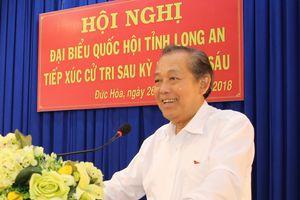 Phó Thủ tướng Thường trực tiếp xúc cử tri Đức Hòa, Long An