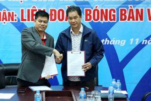 Bóng Bàn Việt Nam nhận tài trợ lớn từ 'người nhà'