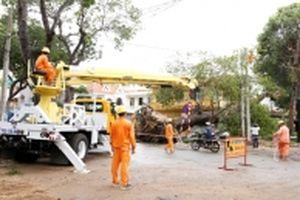 Lưới điện các tỉnh phía nam đã được khắc phục sau bão số 9