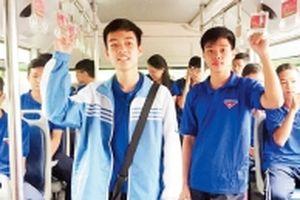 Tuyến xe buýt màu xanh
