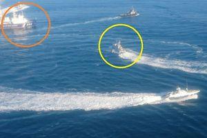 Toàn cảnh màn rượt đuổi giữa tàu chiến Ukraine và Nga trên biển Đen
