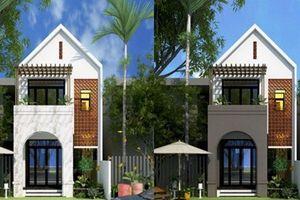 10 mẫu nhà phố mái thái 2 tầng sáng tạo siêu đẹp
