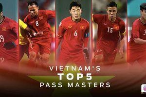 Opta thống kê các 'chân chuyền' làm nên lối chơi kỳ ảo của tuyển Việt Nam