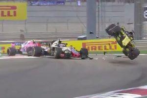 Hulkenberg thoát chết sau tai nạn kinh hoàng tại chặng cuối F1