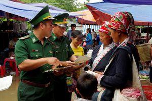 Biên phòng Lào Cai chặn dịch tả lợn Châu Phi trên biên giới