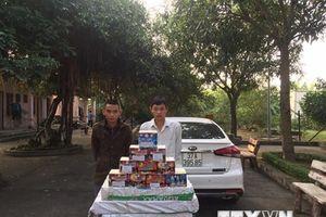 Bắt đường dây buôn bán pháo nổ từ Quảng Bình ra Nghệ An