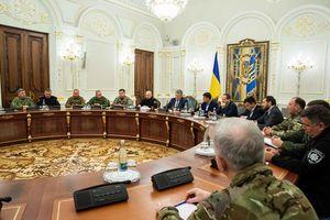 Tổng thống Ukraine triệu tập khẩn Nội các Chiến tranh sau vụ đụng độ với Nga