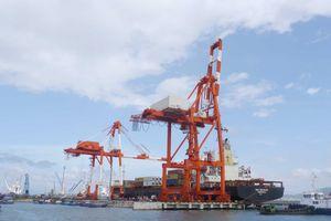 Hàng hóa thông qua cảng biển tiếp đà tăng mạnh