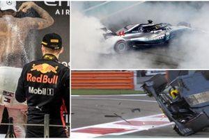 Nhà vô địch Hamilton thắng tuyệt đối ở Abu Dhabi, Hulkenberg suýt chết sau tai nạn kinh hoàng
