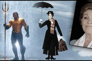 Không thèm diễn lại nhân vật kinh điển, huyền thoại Julie Andrews tham gia phim siêu anh hùng 'Aquaman'