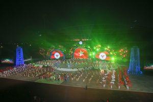 Rực rỡ sắc màu tại Lễ khai mạc Đại hội Thể thao toàn quốc 2018