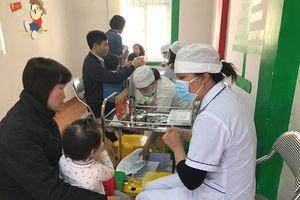 Hà Nội đồng loạt triển khai tiêm bổ sung vắc xin sởi, rubella cho trẻ 1-5 tuổi