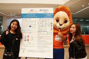 Trợ lý học tập 'ảo' dùng trí tuệ nhân tạo của sinh viên FPT