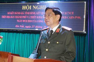 Giám đốc Công an Hà Nội: Tìm nguyên nhân, khắc phục hạn chế để đảm bảo an toàn cháy nổ