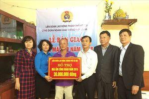 Hà Nội: Gia đình đoàn viên Phùng Đăng Tiến đã hết lo nhà sập