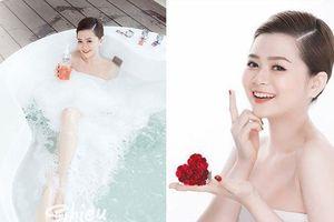 Vẻ đẹp nóng bỏng như Hoa hậu của bạn gái tuyển thủ Việt Nam Đức Huy