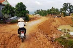Phú Yên chỉ đạo kiểm tra tuyến đường nghìn tỷ chậm tiến độ