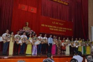 Thí sinh Trịnh Thị Thùy Vân đạt giải nhất