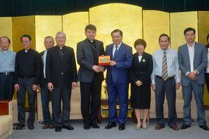 Lãnh đạo TP Đà Nẵng tiếp Tổng Giám mục Marek Zalewski