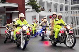 Ra quân đảm bảo an ninh trật tự, an toàn giao thông dịp cao điểm Tết và các lễ hội