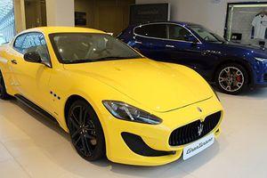 Cận cảnh Maserati GranTurismo Sport giá hơn 12 tỷ tại Sài Gòn