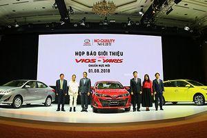 Toyota Vios và Yaris mới tại Việt Nam - thay đổi để bứt phá