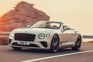 Bentley Continental GTC 2020 đã sang chảnh, còn mạnh mẽ
