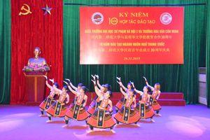 Trường ĐHSP Hà Nội 2 kỷ niệm 10 năm hợp tác đào tạo với Trường Hoa Văn Côn Minh