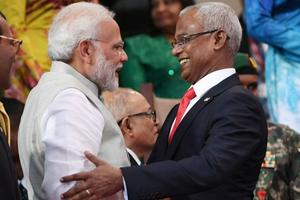 Maldives khẳng định chính sách 'Ấn Độ trước tiên'