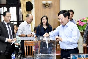 Bộ Ngoại giao giới thiệu nhân sự tham gia quy hoạch Ban Chấp hành Trung ương nhiệm kỳ 2021-2026