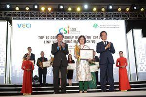 Digiworld lọt top 10 doanh nghiệp phát triển bền vững Việt Nam
