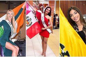 NÓNG RỒI ĐÂY: Dàn mỹ nhân tưng bừng khởi hành sang Thái Lan thi Miss Universe 2018