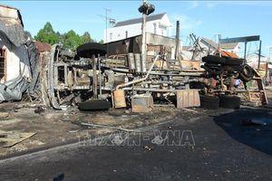Đề nghị Bộ Công an tăng cường kiểm tra xe chở hàng dễ cháy nổ