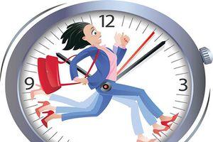 7 lí do chứng minh đúng giờ nơi công sở là vô giá