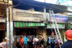 Cháy lớn thiêu rụi nhiều tài sản ở Thành phố Hồ Chí Minh