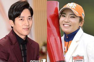 Giữa scandal nhà Bi Rain, em trai 'hot boy' của Kim Tae Hee xác nhận hẹn hò với vận động viên golf kém sắc