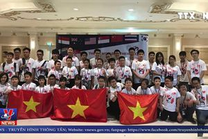 10 học sinh Việt Nam đoạt huy chương vàng Toán thế giới 2018