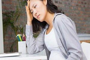 Bà bầu đối phó với chứng đau nửa đầu trong thai kỳ như thế nào?