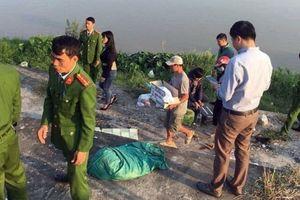 Nam Định: Phát hiện thi thể bé trai sơ sinh trong bọc nilon bên bờ sông