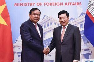 Việt Nam – Campuchia: Sớm đưa thương mại hai chiều đạt 5 tỷ USD