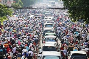 Dân số tại Thủ đô Hà Nội mỗi năm tăng thêm 1 huyện lớn