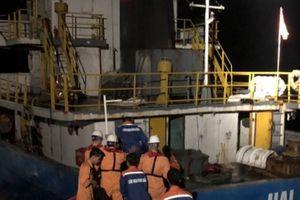 Khánh Hòa: Tàu va đá ngầm, 3 thuyền viên rơi xuống biển trong đêm tối