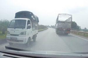 Hai tài xế lái xe ngược chiều cao tốc Hà Nội-Thái Nguyên là ai?