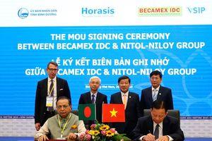 Becamex ký kết các ghi nhớ hợp tác xây dựng thành phố thông minh