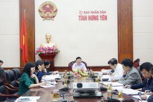 UBND tỉnh Hưng Yên họp đánh giá công tác chỉ đạo, điều hành năm 2018