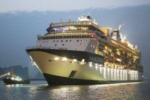 Cảng hành khách quốc tế Hạ Long đón tàu 5 sao